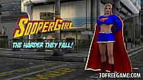 stud musclular a by fucked gets supergirl 3d