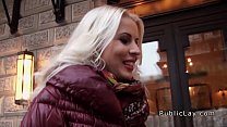 Public pick up ends with blonde babe fucking - download porn videos