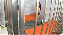 Jessica and Iris Share Prison Cock