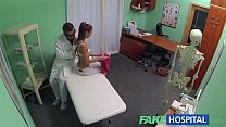 FakeHospital Nynpho brunette teen is back in the doctors office porn videos
