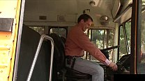 This babe is fucked by her bus driver porn videos