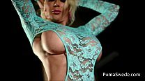 european blonde puma swede gets cums from pink …
