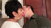 Cockhungry grandma fucked hard porn videos