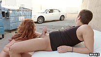 Insatiable Ginger Savannah Fox Loves Public Sex thumb