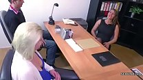 agent porn female with couple german for casting Real