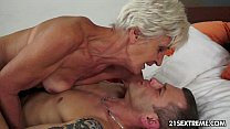 Gorgeous GIL F Aliz have a blast with a big young cock