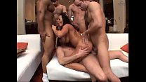 Gangbang with Sandra Romain