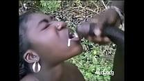 African girl fucking outdoor