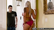 Brazzers - Mommy Got Boobs - Hot Mom Swims scene starring Nina Elle and Xander Corvus - download porn videos