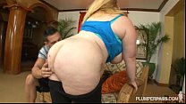 Fat Booty BBW Sashaa Juggs Is Used and Fucked B...