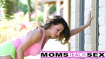 licking pussy in lesson a teens tiny gives mom Step