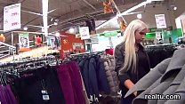 chanting czech teen was tempted in the hypermarket and banged in pov