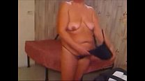 webcam her on nasty gets granny Perverted