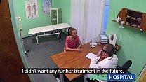 FakeHospital Hot Brunette Patient returns craving the doctors big cock porn videos
