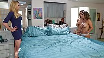 reena sky and melissa moore caught by neighbor …