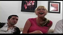 Milf busty Allison gets fucked & facialized by 2 guys porn videos