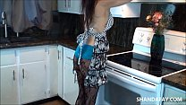 Cum in My Canadian Kitchen!! ShandaFay!!