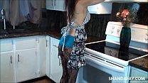 Cum in My Canadian Kitchen!! ShandaFay!! thumb