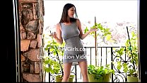 Perfect Natural Tits In Public by Amber Hahn (w...
