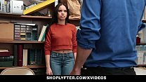 Shoplyter - Hot Teen Caught Stealing and Offere... thumb