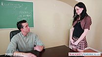 sexy schoolgirl jenna j ross take cock in classroom