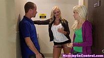 Тупые блондинки и ее родственники порно