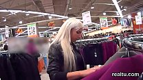 Enchanting czech teen is teased in the mall and...