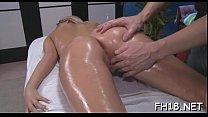 Massage pleased ending