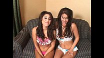 Sisters Whitney and Britney Stevens in an Unkno...