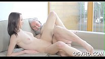 Young cutie fucked by old goat porn videos