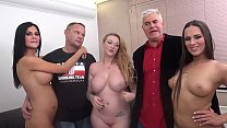 porn allstars jasmin jae and mea melone and harmony reigns fucked a lucky fan