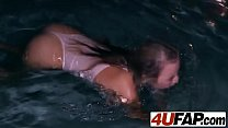 There is nothing better than watching  this tender teenager swimming porn videos