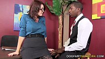 Charlee Chase Makes A Black Guy Fuck Her