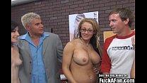 Petite blonde pornstar Lia Lor and porngirl flu...