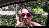 TeensLoveMoney - Busty Ebony Getting Fucked For Extra Cash porn videos