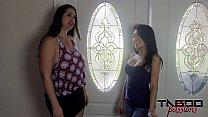 2 Hot Milfs Fucking Jackie Lin & Madisin Lee thumbnail