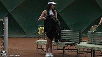 Patricinha dando para o jogador de Tenis