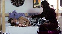 MomsTeachSex - Hot deepthroating threesome porn videos