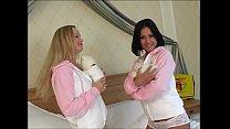 Lesbian Porn Stars Anetta Keys and Silvia Saint...