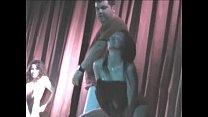 Women undressing in public party