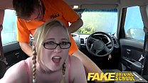 Fake Driving School Creampie for teen leaner wi...