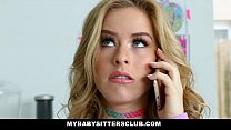 MyBabySittersClub - Adorable Babysitter Lily Fo...