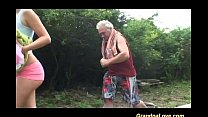 grandpa loves teen sex in nature