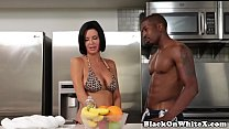 Interracial analized milf riding stepsons BBC)