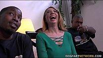 MILF babe Kiki Daire Gets Interviewed at DogFart thumbnail
