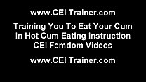 ke the cum off your fingers after you jack off cei