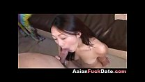 Cute Asian Teen Acting Nasty