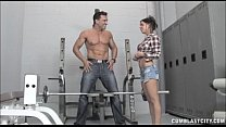 Cumblast In The Gym porn videos