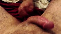 wife handjob tease and denial cumshot in slow motion