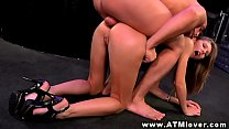 Abby H  getting ass to mouth session